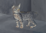 Ugly the Cat by Unconceivable