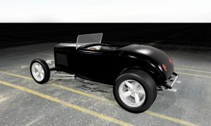 1932 Ford Roadster by MarcelloRupelli