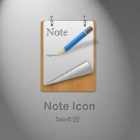 Note Icon by Szesze15 + PSD by Szesze15