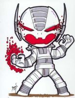 Chibi-Ultron 2. by hedbonstudios