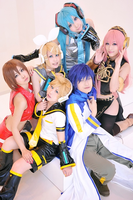 Vocaloid Cosplay by BabyClassicSonic