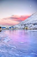 Iceland-city on the end of... by PatiMakowska