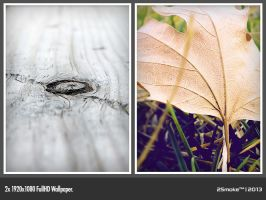 Wood + Leaf by neodesktop