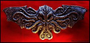 Cult of Cthulhu Altar Plaque by JasonMcKittrick