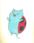 Catbug! by coyotewinds