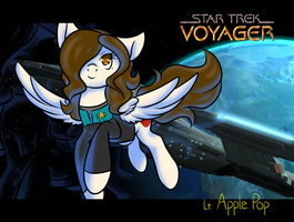 Lt. Apple Pop of the USS Voyager by Kobayashi-Maruu