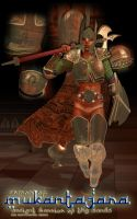 Armor of Mukantagara: Ancient Warrior of the Sands by CMKook-24601