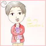 Be my Valentine? *APH-South Korea* by MischievousRibbon