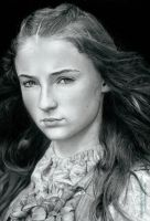 Sansa Stark (Game of Thrones) by AmBr0