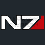 Mass Effect N7 Logo Normal by lincer556