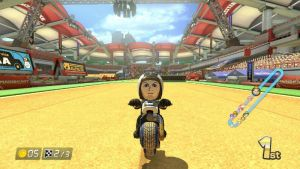 Randy Orton in Excitebike Arena by SonicPal