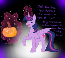 Learning With Twilight: Pumpkins by MochiFries