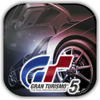 Gran Turismo 5 Game Icon by Wolfangraul