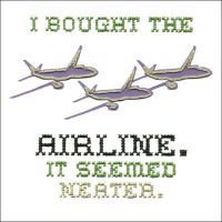 I bought the airline by Paperflower86