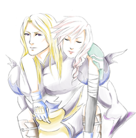 Lightning x Kain Request by Chiyann