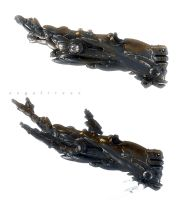 Abyssal whale Mechanik procces by angelitoon