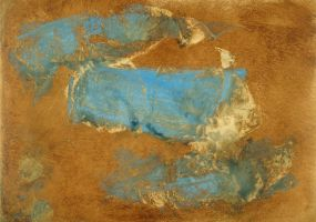 Abstract Brown and Blue by coiplet