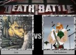 DEATH BATTLE Idea Guts vs The Scotsman by JefimusPrime