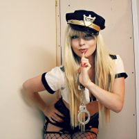 If you don't tell, I won't arrest. by CosplayButterfly
