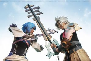 Cosplay: Aqua and Xehanort by Risachantag