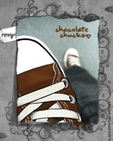 Chocolate Chucks by jasminejoo