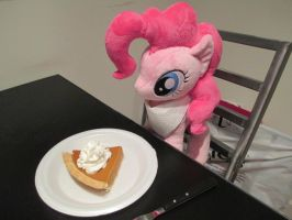 Pinkie Pie and Pumpkin pie by Template93
