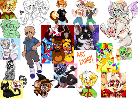 LOTS OF  ART I MADE!! !!! by dogrocket