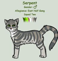 Serpent ref by InvaderTigerstar