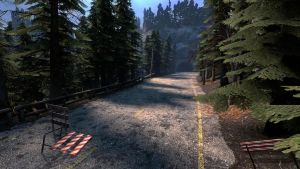 the road to white forest by mause124