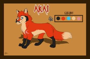 Akai Refrence Sheet by WindWo1f