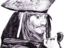Jack Sparrow by FligerSimona