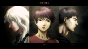 BERSERK - THE 3 by Rafaken