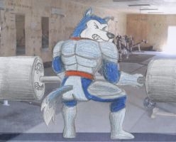 Exile Weightlifting by RikMcCloud