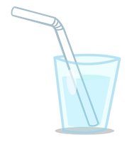 [VECTOR] Glass of Water by TriteBristle