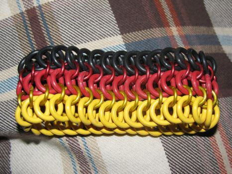 Germany Rubber Bracelet by Melifacent