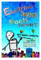 Electric indie rock concert by kenji2030