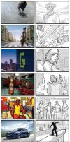 Storyboarding 2007 - 2009 by WarrenLouw