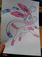 Sylveon Prance- FOR SALE! by sazmullium