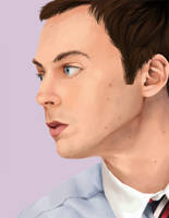 Jim Parsons by MashyTaytew