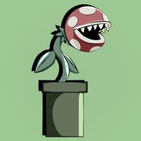 Piranha Plant by Jakinabox