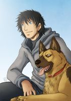 Man's best friend by Tenaga