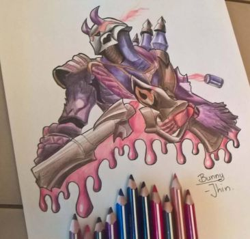 Blood Moon Jhin by TheBunnisher