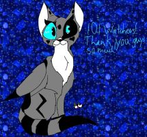 101 watchers!! by Cheedo6
