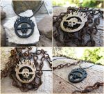 Mad Max Fury Road - Immortan Joe Skull Necklace by Tsurera