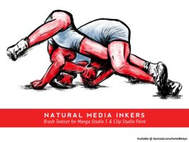 Natural Media Inkers by ANelsyn