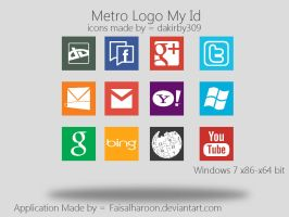 Logo My id Metro version by Faisalharoon
