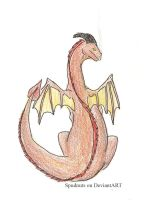 Little Red Dragon by Spudnuts