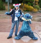Me and Stitch in Disneyland by SweetDevilStitch