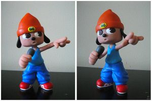 Parappa Sculpture by BThomas64