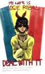 Josie Rizal: Deal With It by randomdrawingshits